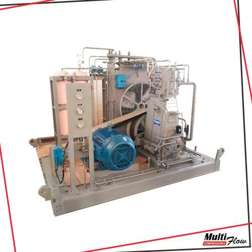 Compressor de gas para industria
