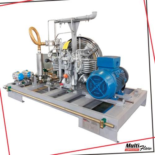 Estação de compressores gnv