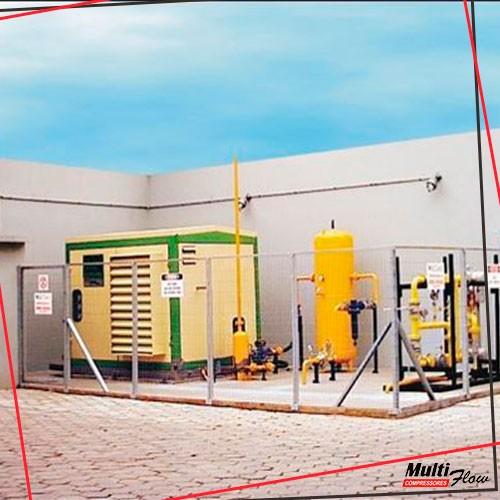 Compressor gas natural