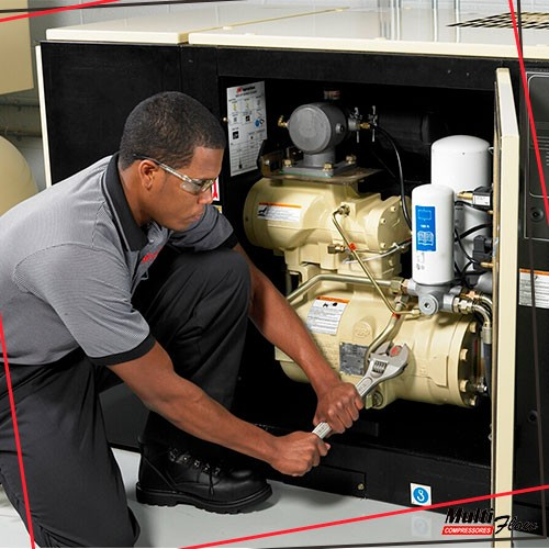 Conserto de compressor