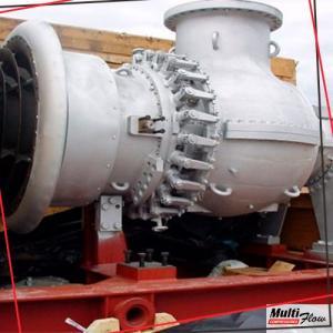 Reparo de turbina a gas